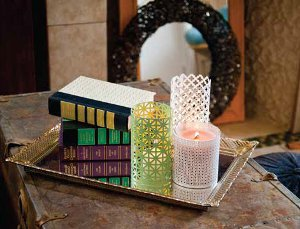 Trendy Aluminum Sheet DIY Candle Holders