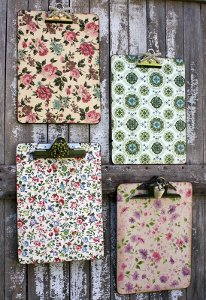 Vintage-Inspired Clipboards