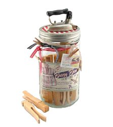 Vintage Inspired Laundry Jar