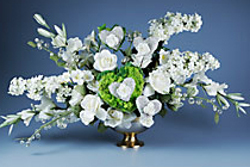 Altar Heart Floral Arrangement