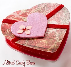 Valentine Altered Candy Boxes