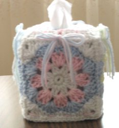 Baby Shells and Bows Boutique Tissue Box Cover