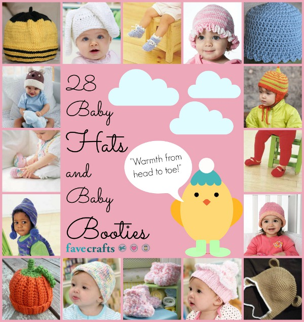 28 Baby Hats and Booties