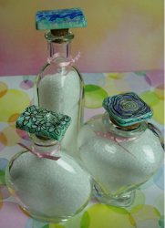 Pamper Me Bath Salt Jar Toppers
