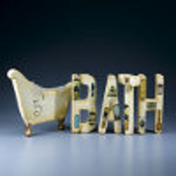 """Bath"" Wall Art"