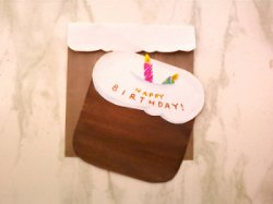 Birthday Cake Card