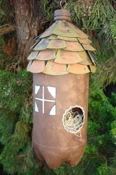 Plastic Bottle Birdhouse