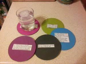 Toast and Limerick CD Coasters