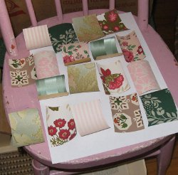 Patchwork Decoupage Chair