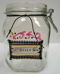 Altered Art Mason Jars