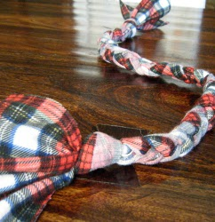 Easy Upcycled Dog Toy