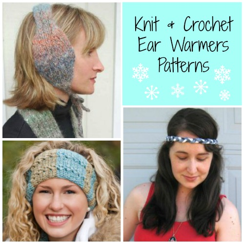 15 Knit & Crochet Ear Warmer Patterns