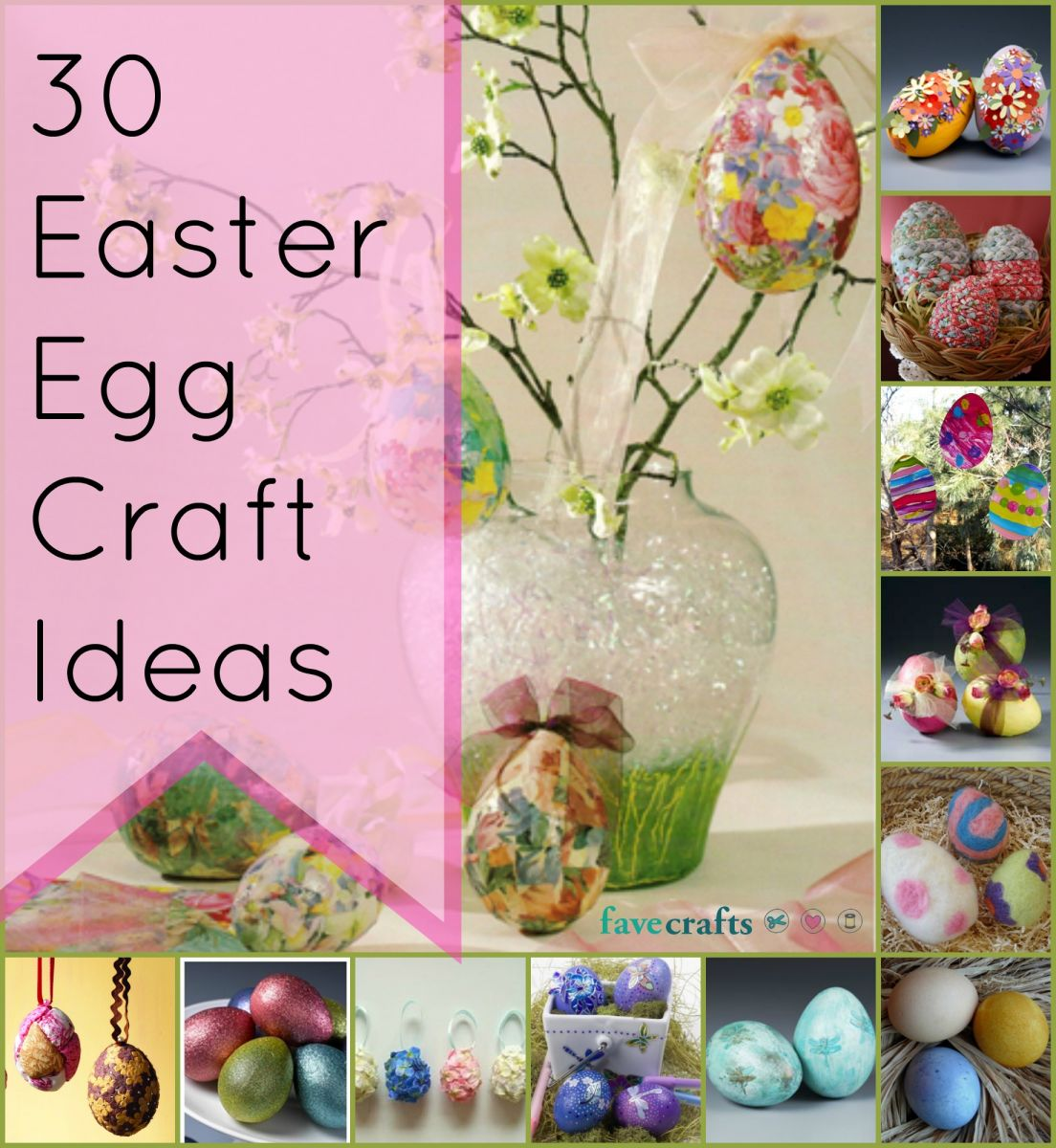 30 Easter Egg Craft Ideas