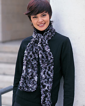 EASY KNIT SCARF PATTERNS « Free Patterns