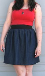 How To Make An Elastic Waistband Dress