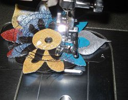 Upcycled Denim Flower Embellishments