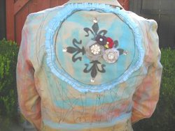 Colorful Painted Jacket