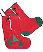 Fleece Zippered Stocking