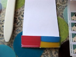Matchbook Sticker Holder