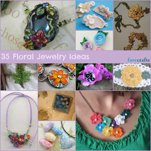 35 Floral Jewelry Ideas