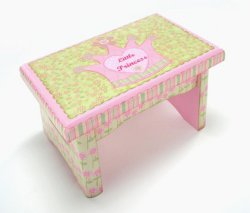Fit for a Little Princess Footstool