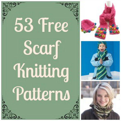 53 Free Scarf Knitting Patterns