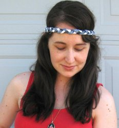 Colorful Braided Headband Tutorial