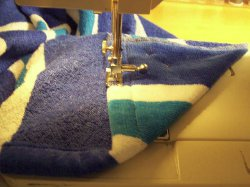 Two Hooded Beach Towels