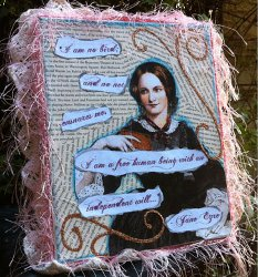 Jane Eyre Plaque