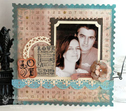 Lovely Scrapbook Layout