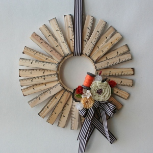Measure for Measure Teacher Wreath