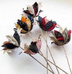 Mitzi's Fabric Flowers