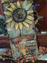 Autumn Mixed Media Canvas