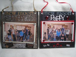 Twilight Party Picture Frame