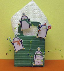 Silly Penguin Fun Keepsake Bag