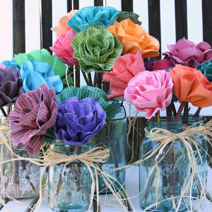 radiant ruffled blossom bouquet 40 Free Fabric Flower Patterns