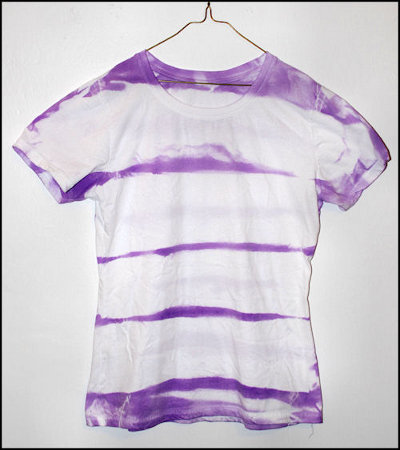 Striped Tie-Dye T-Shirt