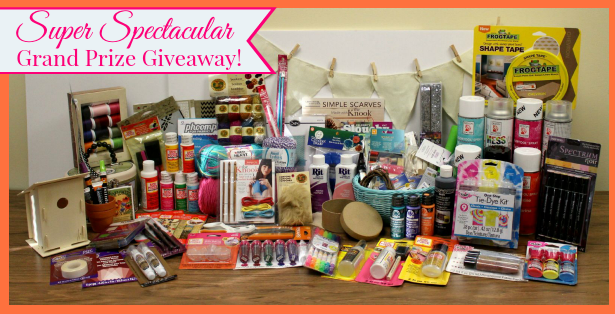 Super Spectacular Grand Prize Giveaway