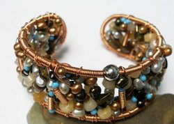 Super Stylish Beaded Soup Bangle