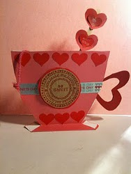Craft Ideas  Paper Cups on Brown Bag Tea Cup Valentine   Favecrafts Com