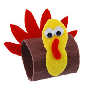 Easy Turkey Napkin Rings