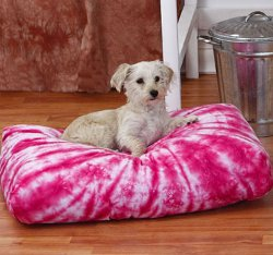 Tie Dye Dog Bed