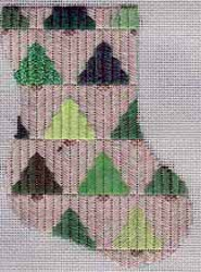 Pine Trees Mini-Sock