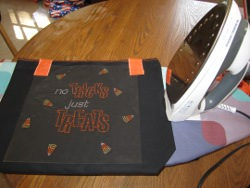Rhinestone Trick or Treat Bag