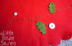 Embroider A Christmas Tree Skirt