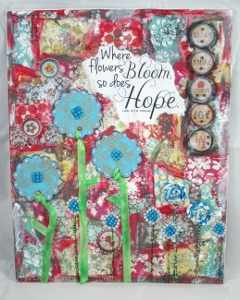Where Flowers Bloom Canvas