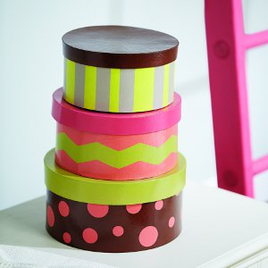 Fancy Schmancy DIY Storage Boxes