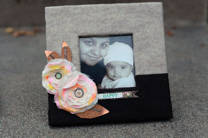 Mom's Favorite DIY Picture Frame