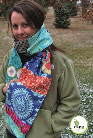 Patchwork Scarf and Scarflette