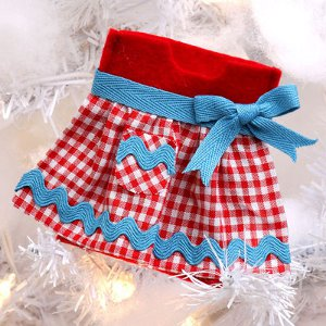 Granny's Gingham Gift Card Holder